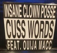 Insane Clown Posse - Cuss Words CD SEALED oujia mac mike e clark rare single icp