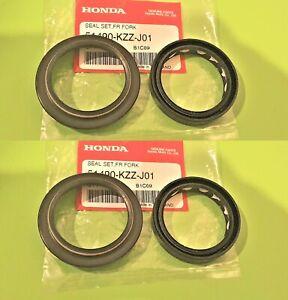 GENUINE Honda CRF250L Front Fork Seals & Dust Seal 2012 - 2020