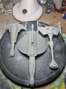 Fasa star trek 3d printed Klingon ships
