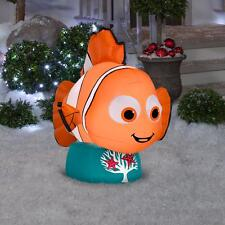 Disney Pixar NEMO Gemmy Christmas Airblown Inflatable LED Holiday Yard Décor