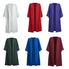 Coro Bata Vestido Mujer Hombre Sacerdote Preachers Iglesia Graduación