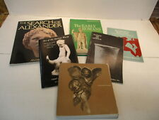 Lot of 6 Books Art Sculptures Early Greek Roman Alexander the Great Ancient