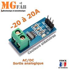 Module ACS712 20A capteur de mesure courant AC DC effet HALL | ARDUINO DIY PIC