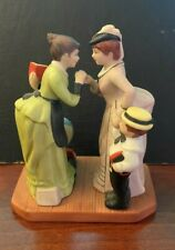 The Danbury Mint School Days Porcelain Figurines 1990