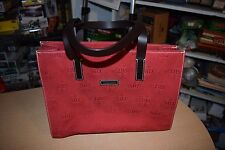 Super Cute DOONEY & BOURKE East West Red Canvas Tote Purse NEW!
