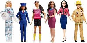 Barbie Ken I can be a... Firefighter Footballer Pilot Astronaut Barista