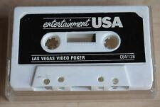 Entertainment LAS VEGAS poker video Cassetta Tape COMMODORE 64 c64 funziona