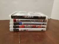 Lot Of 5 Playstation3 PS3 Games (Skate3/Sports Champions/Tiger Woods/NHL 11/MLB)