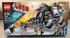 New! LEGO MOVIE 70815 - Super Secret Police Dropship - 8 Minifigs - 854 pieces!