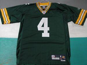 Brett Favre Green Bay Packers SEWN Premier Men's Medium Jersey Green