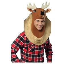 Rasta Imposta 6508m Mens Trophy Head Deer Costume