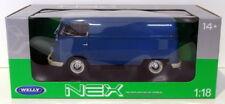 Welly 1/18 Scale Diecast 18053W - 1963 Volkswagen T1 Bus - Blue