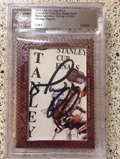 2012 Sidney Crosby Mario Lemieux 1/1 Leaf Masterpiece Cut Autograph Card JSA COA