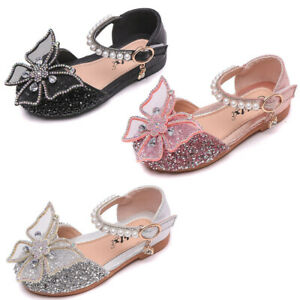 Girls Baby Child Sandals Girls Kids Shoes Summer Casual Party Flat Dress Shoes