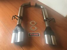 COMMODORE VE-VF V6-V8 STAINLESS STEEL SPORTS REAR MUFFLERS suit UTE