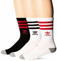 Agron Socks adidas Mens Originals Cushioned Crew Sock (3 Pack)- Pick SZ/Color.