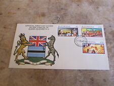 1977 First Day Cover - Botswana - QE2 Silver Jubilee
