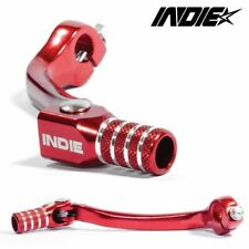 Honda CRF 250 Gear Lever Pedal Red Indie 2010-2016 Motocross LV-25.01.053-RD/RD
