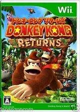 Used Wii Donkey Kong Returns Nintendo JAPAN JP JAPANESE JAPONAIS IMPORT