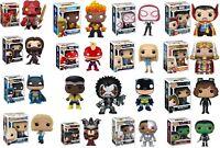 Assorted Funko POP Comics Super Heroes DC Marvel Hellboy Deadpool NEW In Box