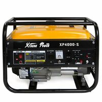 XtremepowerUS 4000 Watt 6.5HP Gas Generator Lifan Engine120v/240v 4 Stroke