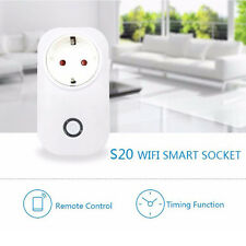 Smart WiFi Remote Control Timer Switch Power Socket EU Plug For Cellphone NEW