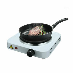 1000W Electric Hotplate Portable Kitchen Table Top Cooker Stove Single Hot Plate