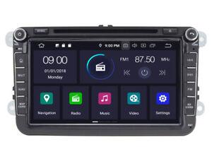 "Navi Car GPS Radio Player for Volkswagen Golf Passat Tiguan 8"" Android 10 4+64gb"