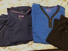 Two Sets of Scrubs Sz S Purple Label Yoga
