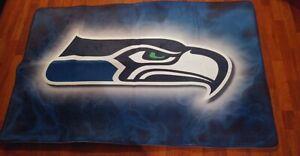 Seattle Seahawks Rugs Living Room Anti-Skid Area Rugs Bedroom Floor Mats Carpets