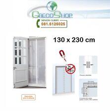 Zanzariera/Tenda con chiusura automatica a calamita/magnetica 130x230cm