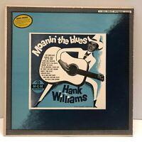 Hank Williams Moanin' The Blues LP Album 1956 MGM Records E3330 VG Rare!