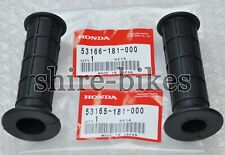 NEW GENUINE Honda Handlebar Rubbers (Pair) suitable for use with CRF70 2004-2011