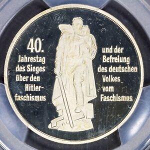 10 Mark 1985-A PCGS PR69DCAM East Germany DDR Liberation of Germany Gem.