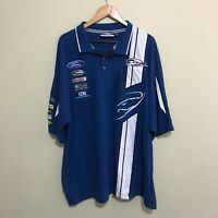 Ford V8 Supercars Racing Shirt Mens 6XL Signed Winterbottom Dumbrell Richards