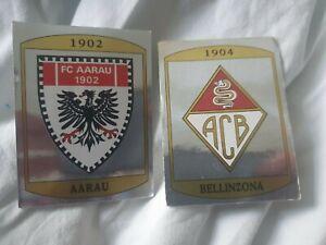 Panini - Switzerland Issue Football 88 Stickers - Badges/Foils -