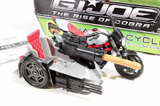 GI JOE SNARLER CYCLE 2009 Rise of Cobra ROC Action Figure Vehicle COMPLETE G.I.