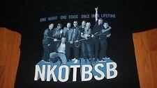 New Kids On the Block Backstreet Boys NKOTBSB Concert T-Shirt Large nkotb bsb