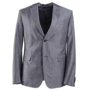 NWT $1545 Z ZEGNA Slim-Fit 'Drop 8' Lightweight Wool Blend Suit 40S (Eu 50c)