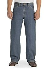 LEVIS Carpenter Jeans Relaxed Fit Straight Leg Light Wash 48 x 30