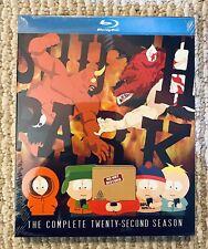 South Park The Complete Twenty Second Season 22 Blu Ray Sealed Brand New Rare