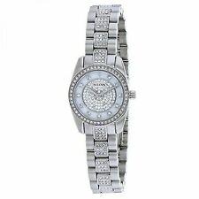 Bulova Womens 96L253 Swarovski Crystal' Quartz Stainless Steel Watch