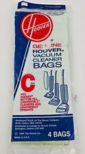 Genuine Hoover Vacuum Cleaner Bags Lot Of 3 Type C