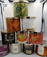 Updated 28/10/19  BATH AND BODY WORKS AUTUMN 3-WICK CANDLE COLLECTION 2019