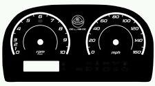 Lotus Elise & Exige Custom Gauge Face dials in Modern style