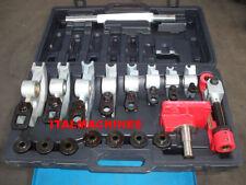 Kit curvatubi manuale portatile scarico con 7 matrici di curvatura Ltf  373215