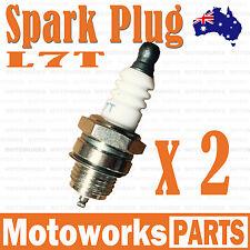 2 x L7T Spark Plug 47cc 49cc Mini PIT Pocket Scooter Quad Dirt Bike ATV Gokart 1
