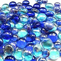 100 x Glass Pebbles / Nuggets / Stones / Gems - Crystal Water