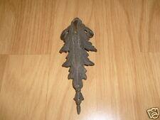 1 - Fronton d'Angle en Bronze ou Laiton pour Meuble, Horloge, Pendule - Ancien