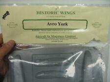 Aircraft in Miniature - 172 - Avro York - Historic Wings - Vacform - New